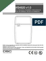 Ws4920 V1.0