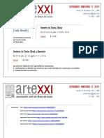 ARTEXXI - SEMINARIO INVIERNO 2019