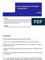 Wealth Management & Asset Management