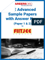 Jee advanced sample papers2083