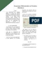 Aplicacion de Ecuaciones Diferenciales en Circuitos Electricos Convertido
