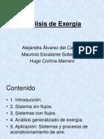 Análisis de Exergía