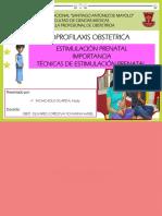 EXPOSICION PSICOPROFILAXIS OBSTETRICA - EPO