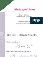 Otimização Linear-PO6-Método Simplex Em Tabelas