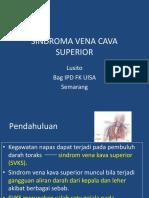 Sindroma Vena Cava Superior