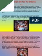 Presentación de Los 12 Dioses