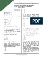 Prova de Matemática Afa 2013 Resolvida