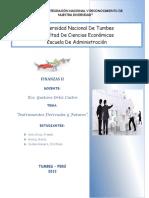Instrumentos Derivados y Futuros Financieros