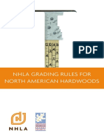 NHLA Grading Rules for North American Hardwoods