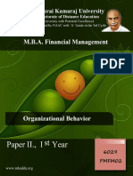 Pmfm02 Organizational Behavior