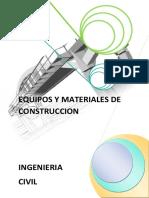 Informe Equipos y Materiales