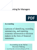 Accounting for Managers 1