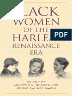 0. Antología - Black Women of the Harlem Renaissance Era