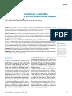 Perfil clínico y sociodemográfico de la neurosífilis