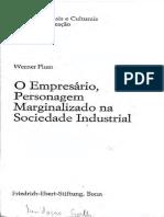 O Empresário, Personagem Marginalizado na Sociedade Industrial - Werner Plum.pdf