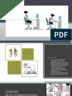 Manual de Prevención de Los Trastornos Musculoesqueléticos