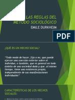 LAS REGLAS DEL METODO SOCIOLÓGICO.pptx