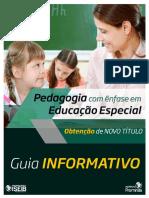 GUIA PARCEIRO - Pedagogia Com Ênfase Em Educação Especial