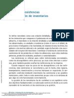Gestión de Existencias en El Almacén ---- (CAPÍTULO 7 GESTIÓN de EXISTENCIAS Y (...))
