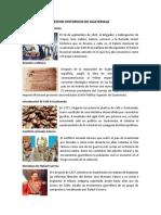 10 Hechos Historicos de Guatemala