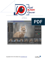 FastRawViewer User Manual