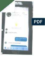 Texteo Entre Administrador de La Fortaleza Luis Martínez Suárez y Oficial de Enlace de La AEE Egrein Avilés Cancel (Pub. Jay Fonseca/Noticel)