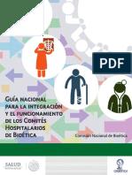 Guía nacional para la integración y el funcionamiento de los Comités Hospitalarios de Bioética