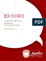 ECS1601 Exam Pack 2018