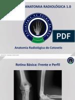 Anatomia Radiológica - Cotovelo, RPM