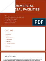 Commercial Disposal Facilities
