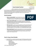 visual-schedule-tip-sheet