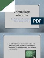 Criminología Educativa