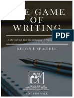 The Game of Writing