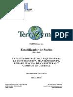 Catálogo Técnico TerraZyme 2,018