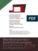 18th International Friedrich Kuhlau Flute Competition