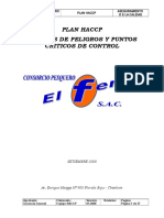 Manual Haccp - Cp El Ferrol Sac - Set 2011 - Anchoado