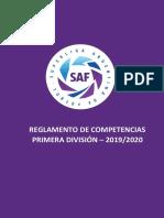 Reglamento TEMPORADA 2019-2020- (Circulado) 12-07-19 (1) (1)