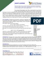 Lanthanum Fluoride Laf3 Ion Selective Electrodes