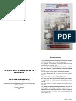 Historia de la Policia de la Provincia de Misiones (Argentina)