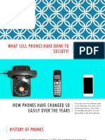 what cell phones have done to society