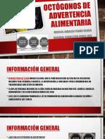 Octógonos de Advertencia Alimentaria POLITICA ECONOMICA