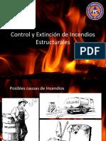 Control y Extinción de Incendios Estructurales 2016