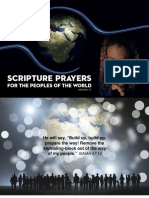 Scripture Prayers for the Peoples of the World
