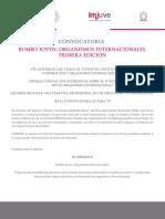 Convocatoria Rumbojoven Organismos Internacionales 2016 240616
