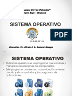 Sistema Operativo Clase 10
