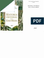 Alvarez Palenzuela, Vicente. - Historia Universal de La Edad Media