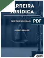 Direito empresarial para magistratura