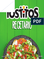 Recetario Tostitos 2019