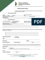 Consultation Form