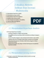 La2 Analyse Multimedia Research and Innovation Activities Malay Version
